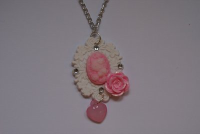 Collana cameo Hello kitty