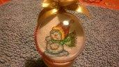 sfera natalizia personalizzabile