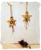 Decorazione stella shabby-  profumatore per armadi