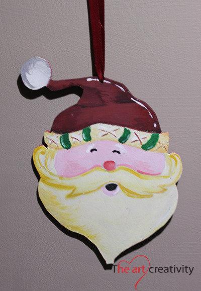 """Addobbo  """"Babbo Natale grande"""""""