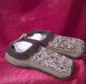 Babbucce in lana