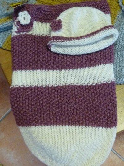Sacco Nanna E Cappellino Per Neonato Bambini Abbigliamento Di