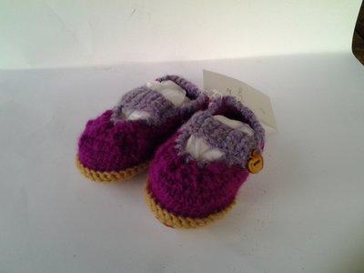 Pantofole lana bimba