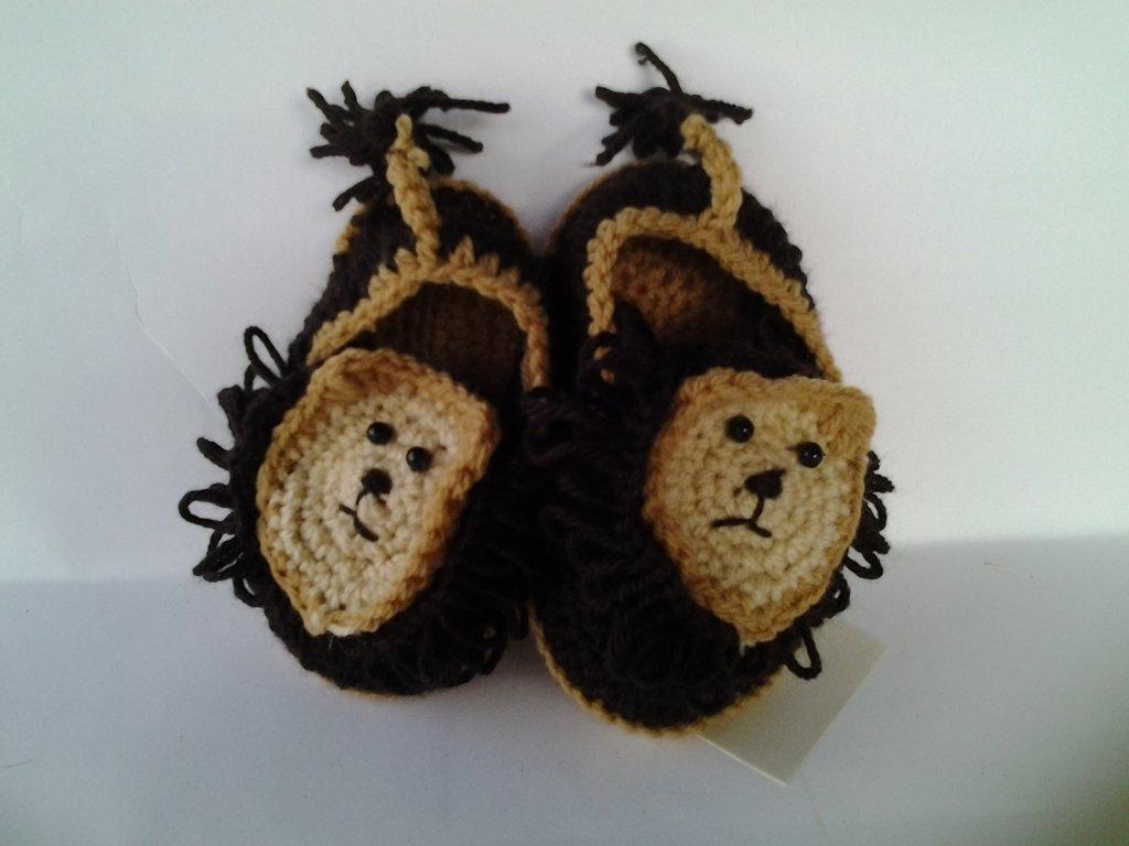 Pantofoline lana bambini