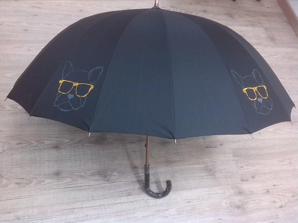 """ombrello dipinto a mano,modello """"can"""""""