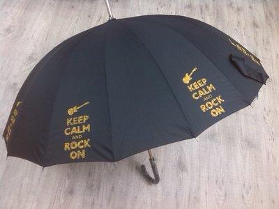 """ombrello dipinto a mano,modello """"rock"""""""