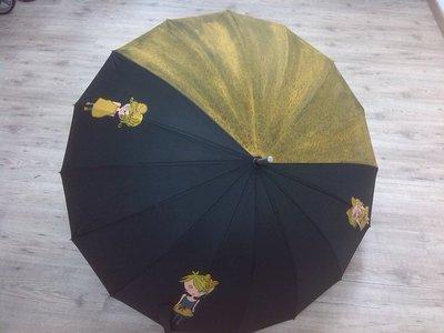 """ombrello dipinto a mano,modello """"nenas"""""""