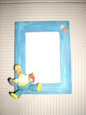 portafoto Homer Simpson