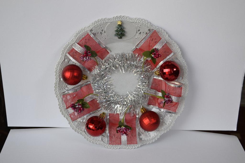 Piatti decorativi natalizii idea regalo feste natale di passi su misshobby - Piatti decorativi ...