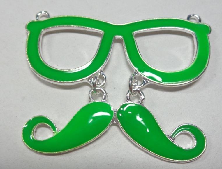 Pendente Hipster Baffetti e Occhiali