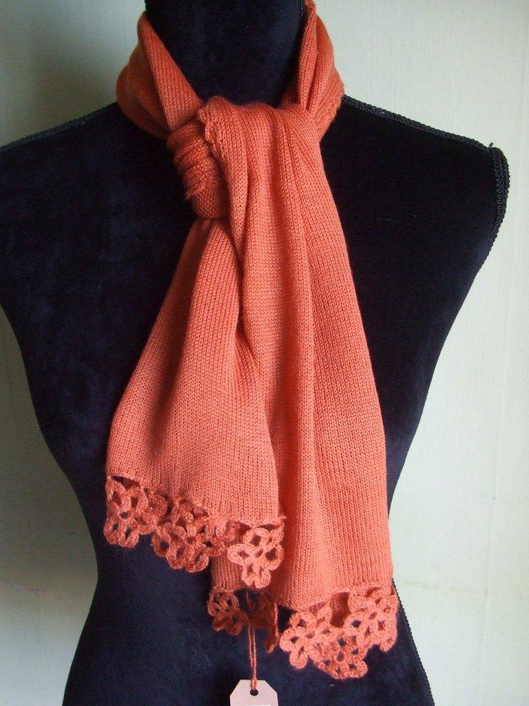 sciarpa bimba leggera maglia lana calda