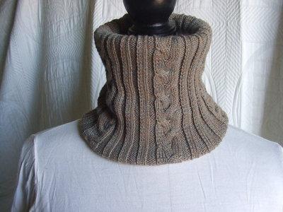 scalda collo lana sciarpa maglia bimbo + cappello