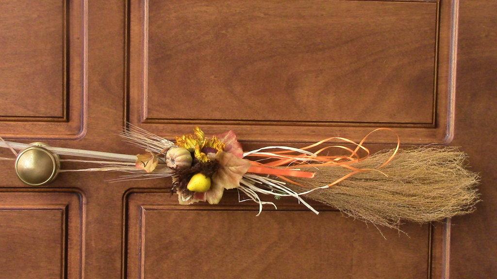 una scopa caccia quai