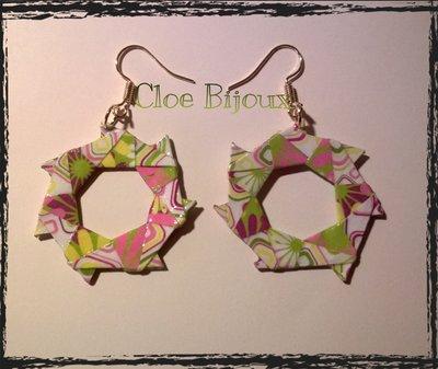 """Orecchini origami """"Yumi"""""""
