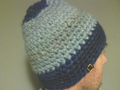 Cappelo in lana, uomo donna, fatto a mano all'uncinetto C086