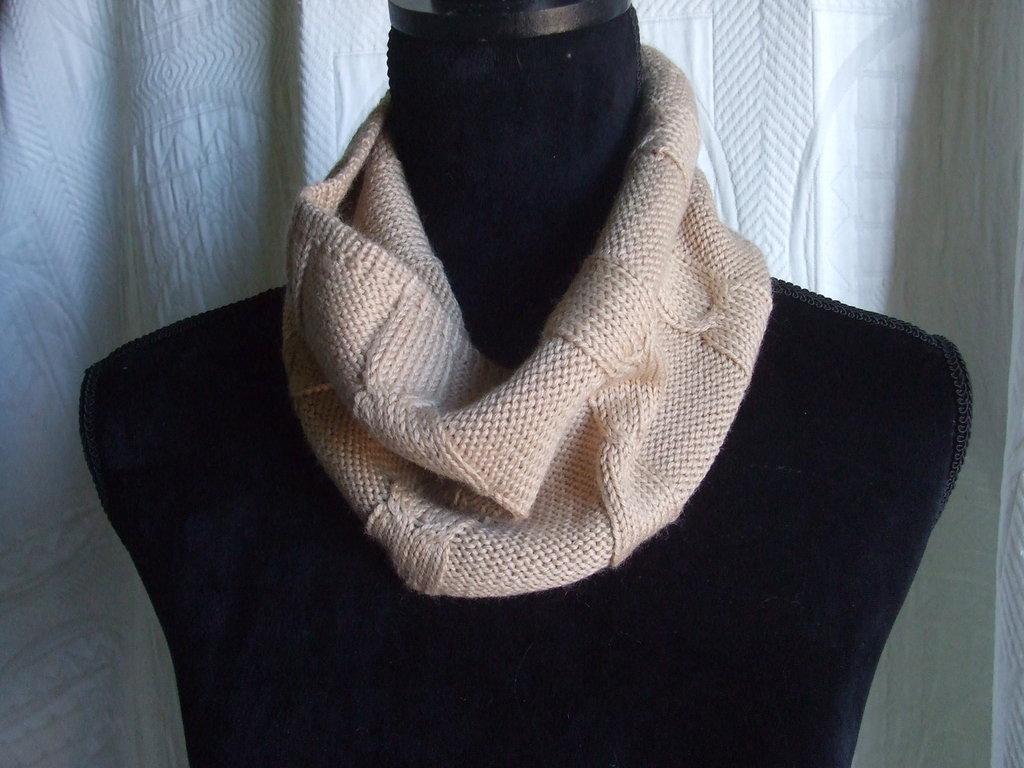 scalda collo lana maglia sciarpa ragazzo