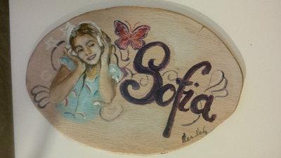targhette personalizzzate dipinte a mano
