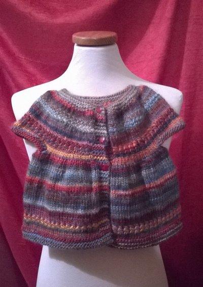 Maglia in lana multicolore