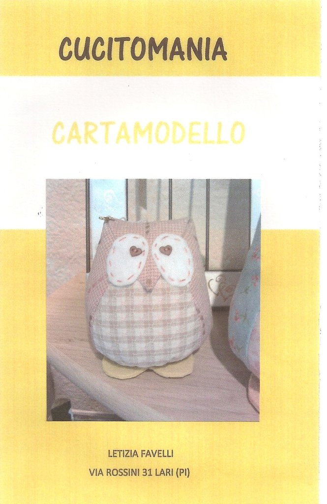 Cartamodello gufo