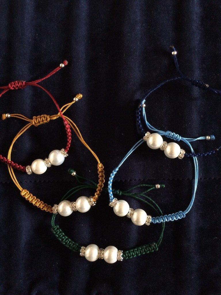 Bracciale Perle e Zirconi