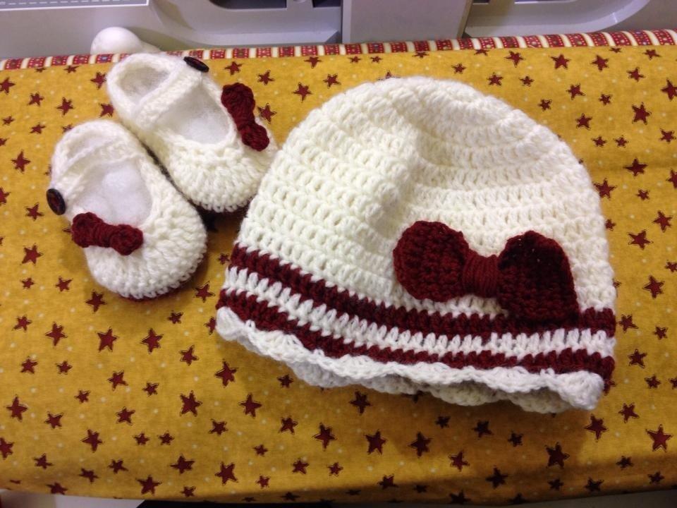 Completo scarpina +cappello