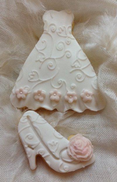 Bomboniere Matrimonio Pasta Di Zucchero.Biscotto Bomboniera Per Matrimonio Con Delicati Fiorellini E Pasta