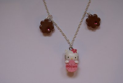 Collana Hello kitty biscuit