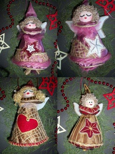 decorazioni Natale Angioletti