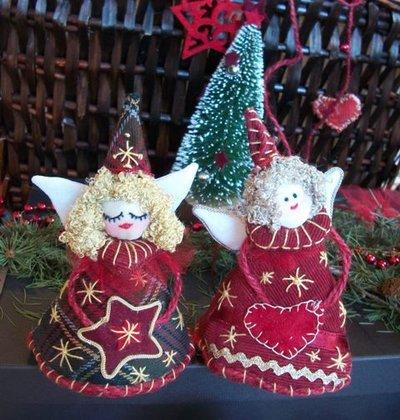 decorazioni Natale  addobbi  Angioletti-Campanelli