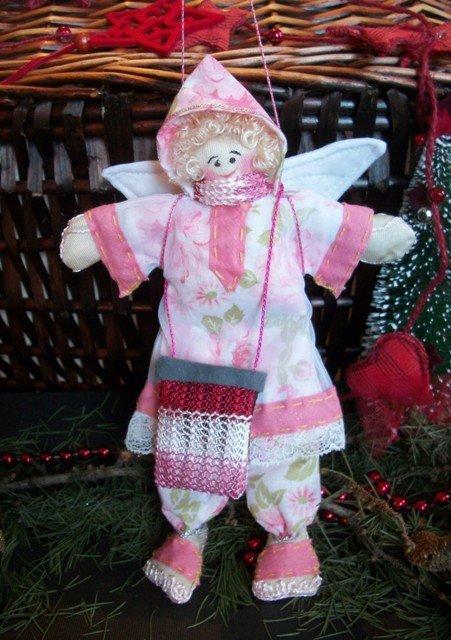 decorazione Natale  addobbi  Angioletto