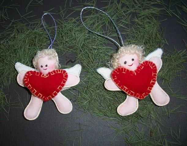 decorazioni Natale Angioletti -addobbi natalizi