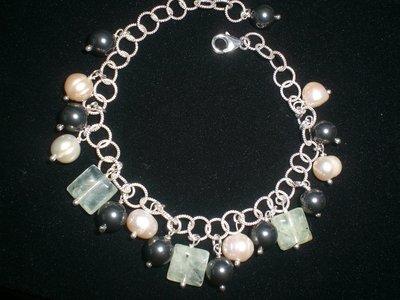 Cod. 0030 - Bracciale perle di fiume