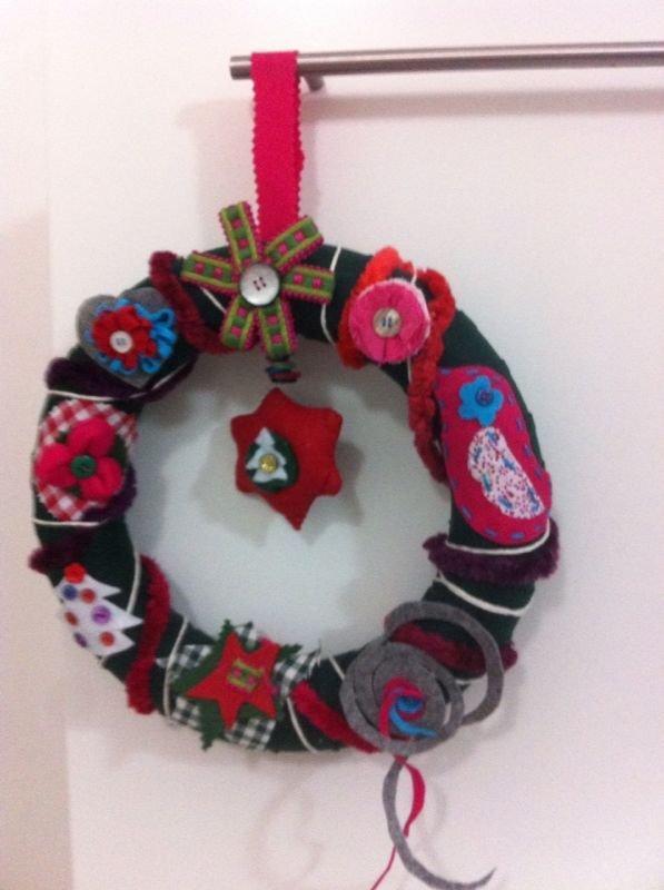 Ghirlanda natalizia in stile nordico
