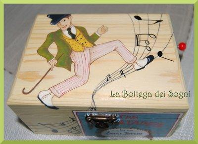 Cofanetto carillon - scatoletta ragtime