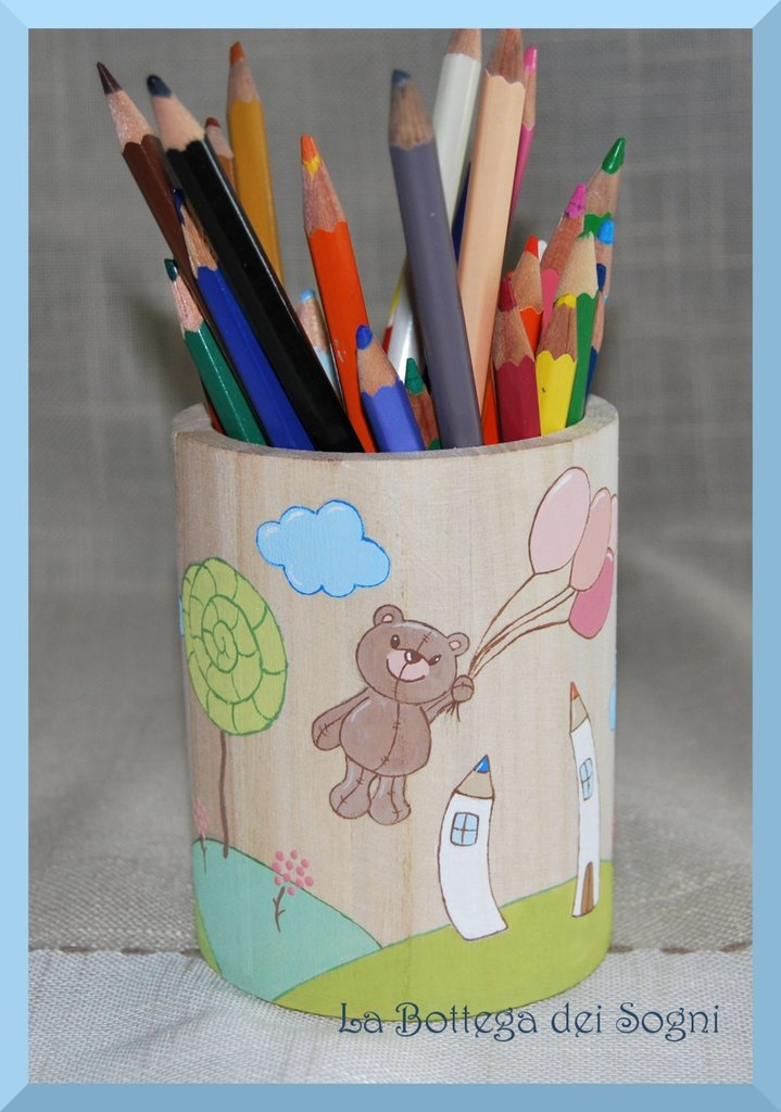 Porta penne orsetti