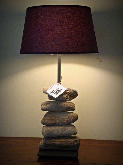 Lampada nantes con legni di mare per la casa e per te for Legni di mare arredamento