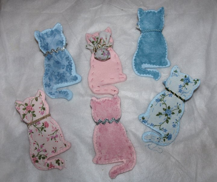 Gattini, profumatori per cassetti ai fiori di lavanda