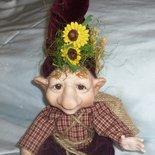 Bambola Troll Porcellana Bisquit GEREMIA