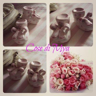 Scarpine in ceramica