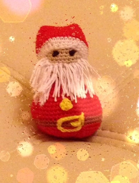 amigurumi - Babbo Natale