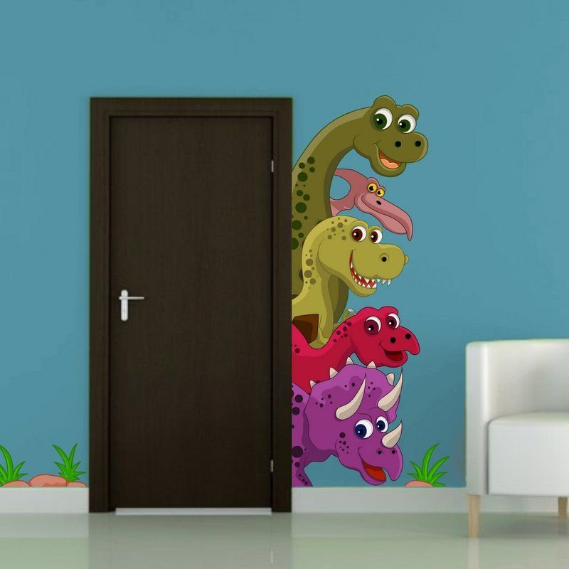 Adesivi colorati Dinosauri (3370f)