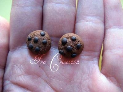orecchini a lobo biscotto