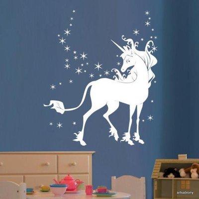 Adesivo per le pareti unicorno (260n)