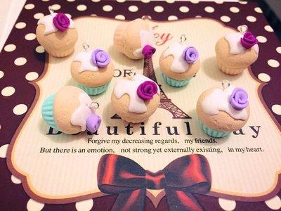 Ciondoli cupcake in fimo per le vostre creazioni!