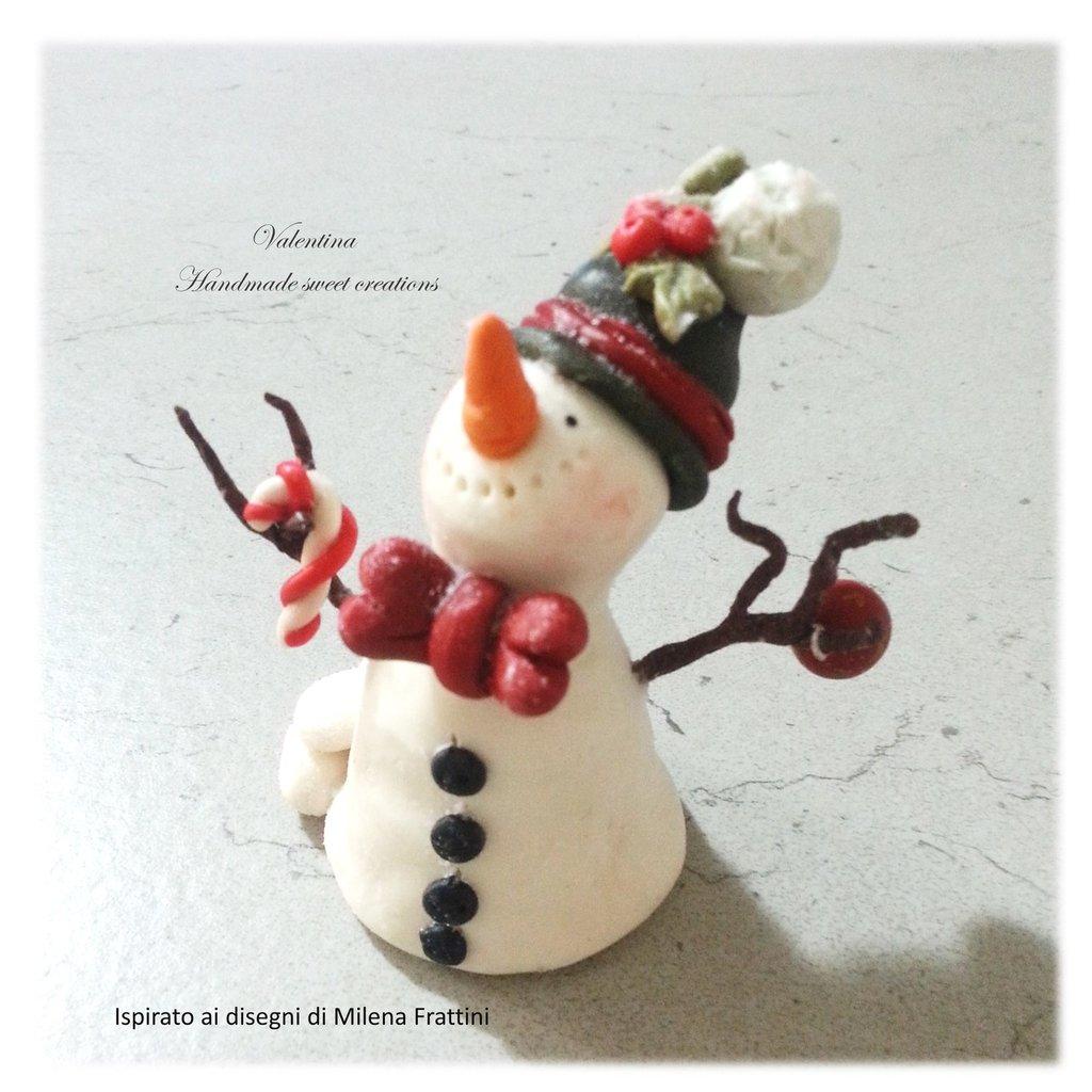 Pupazzo di neve- con papillon