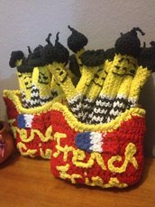 Amigurumi - French fries
