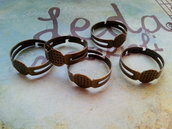 Base anello regolabile bronzo