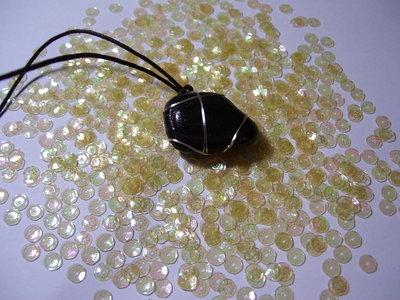 Collana pietra nera