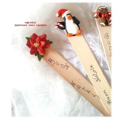 Segnalibro Idea regalo Natale Stella di Natale