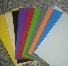 Foglio Gomma Crepla Formato A5 Vari Colori